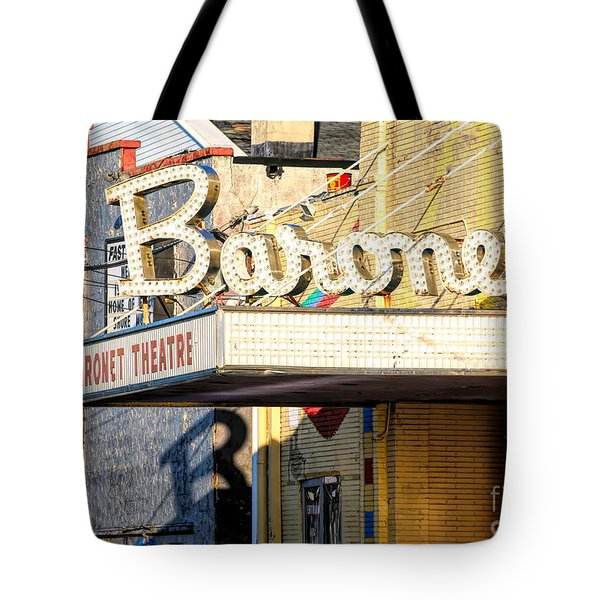 Baronet Theater Asbury Park New Jersey 1913 Demolished In 2010 Tote Bag