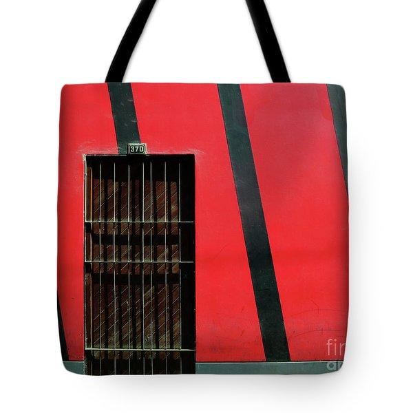 Bars And Stripes Tote Bag