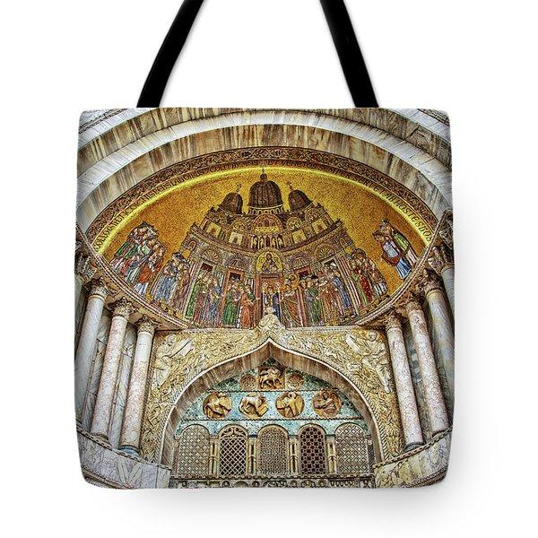 Basilica Di San Marco Tote Bag