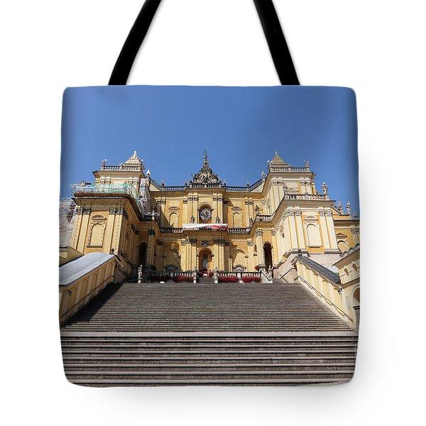 Basilica Of The Visitation  Tote Bag
