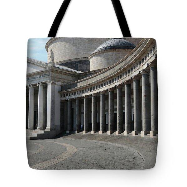Basilica San Francesco Di Paola Tote Bag