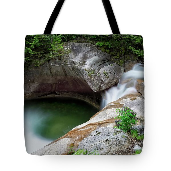Basin From Above, Nh Tote Bag