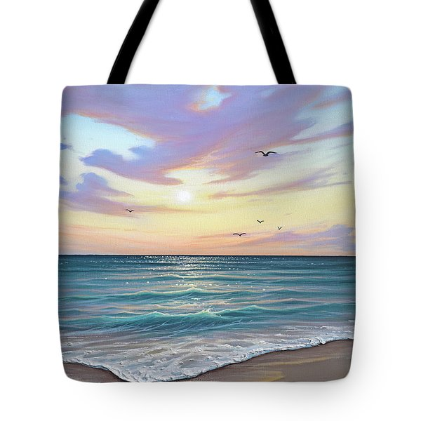Basking In The Sunset Tote Bag
