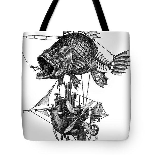 Bass Airship Tote Bag