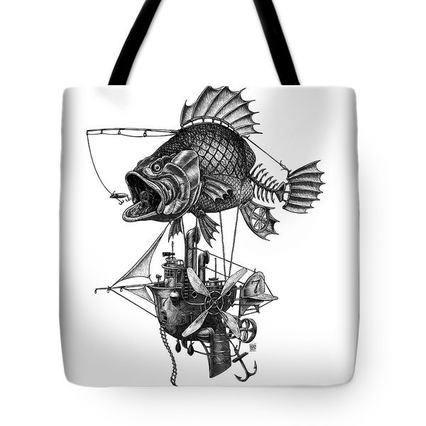 Bass Airship Tote Bag