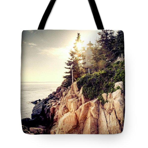 Bass Harbor Tote Bag