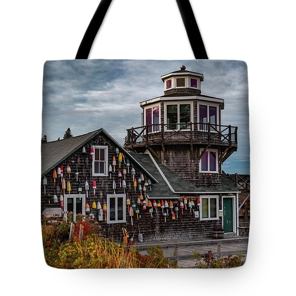 Tote Bag featuring the photograph Bass Harbor by Rick Hartigan