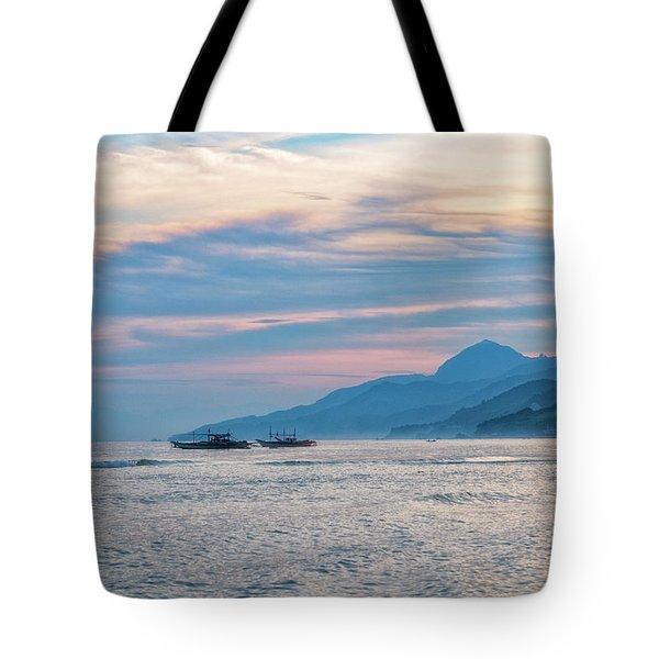 Batangas Sunset Tote Bag