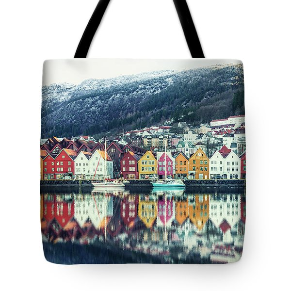 Bathed In Color Tote Bag