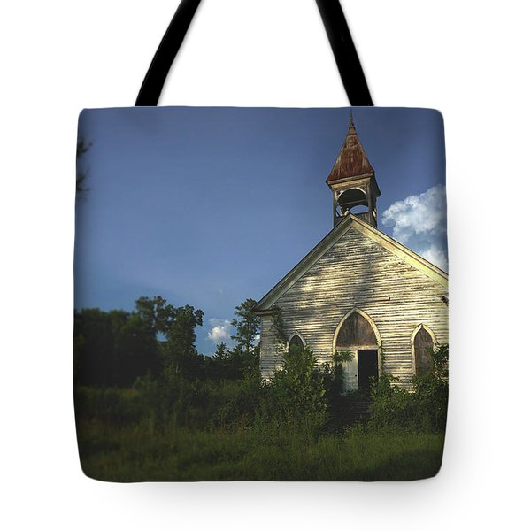 Bats In The Belltower Tote Bag