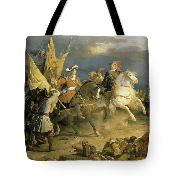 Battle Of Villaviciosa, 1710 Tote Bag