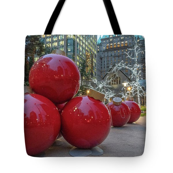 Tote Bag featuring the photograph Baubles by Ross G Strachan