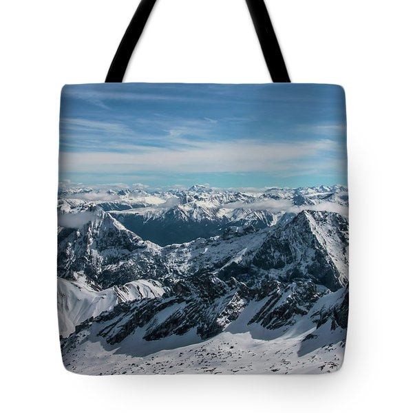 Tote Bag featuring the photograph Bavarian Alps by Dawn Richards