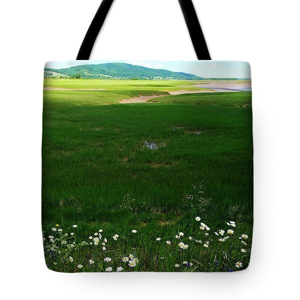 Bay Of Fundy Landscape Tote Bag