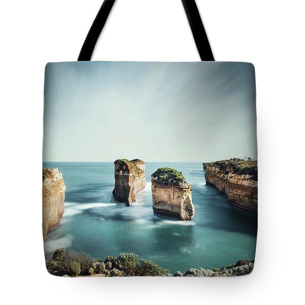 Bay Of Solitudes Tote Bag