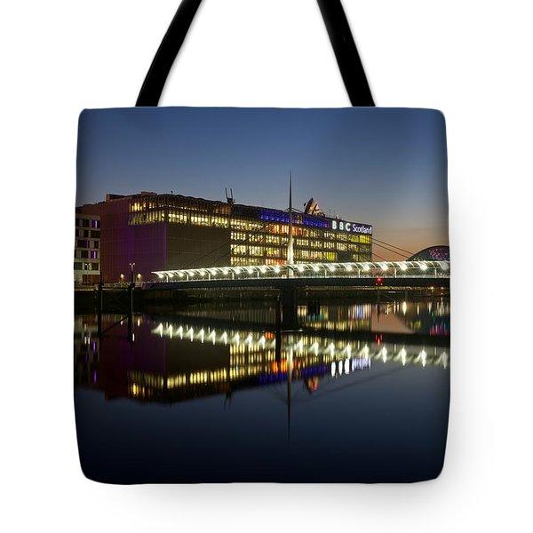 Bbc Scotland Studios Tote Bag