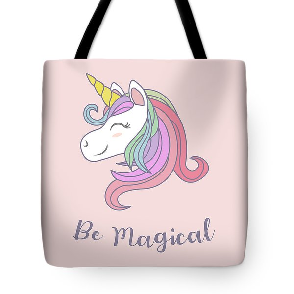 Be Magical - Baby Room Nursery Art Poster Print Tote Bag
