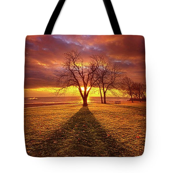 Tote Bag featuring the photograph Be Still In The Moment by Phil Koch
