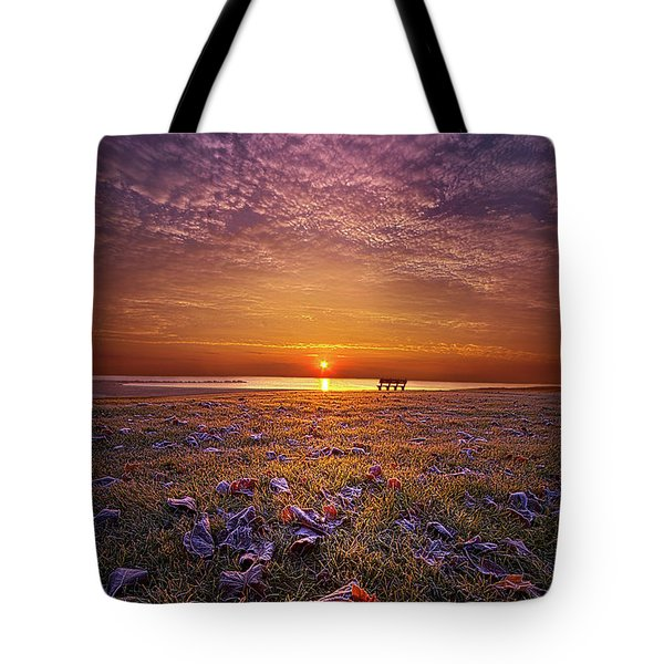 Tote Bag featuring the photograph Be The Light by Phil Koch