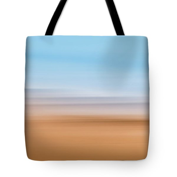 Beach Abstract Tote Bag