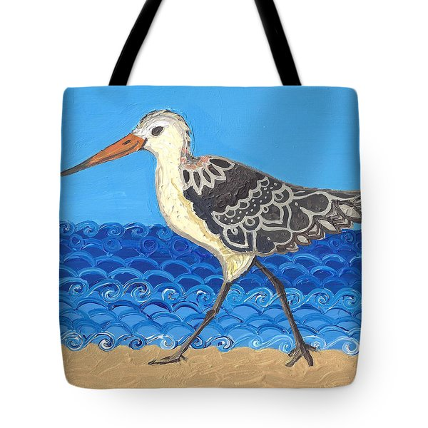 Beach Bird 2 Tote Bag