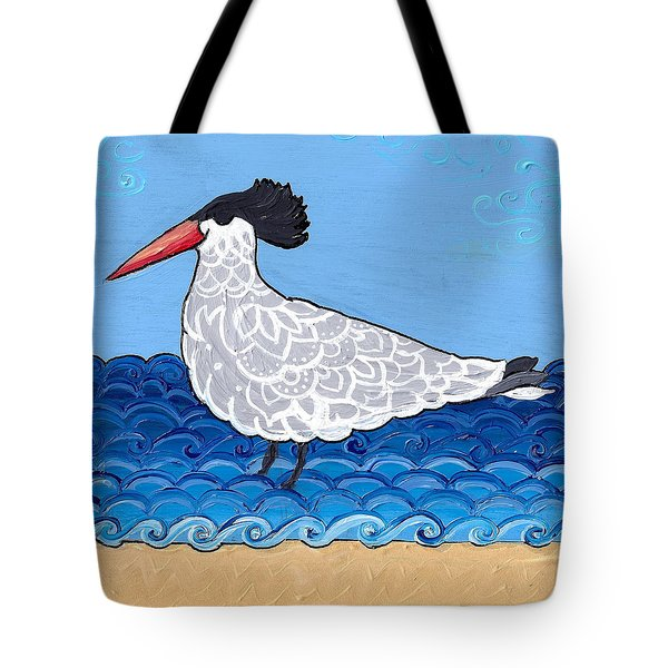 Beach Bird 3 Tote Bag