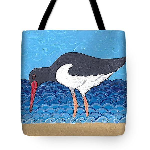 Beach Bird 4 Tote Bag