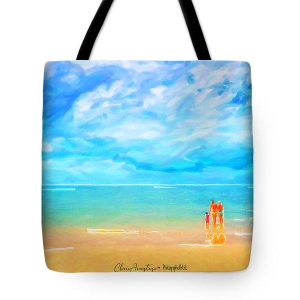 Beach Blues II Tote Bag