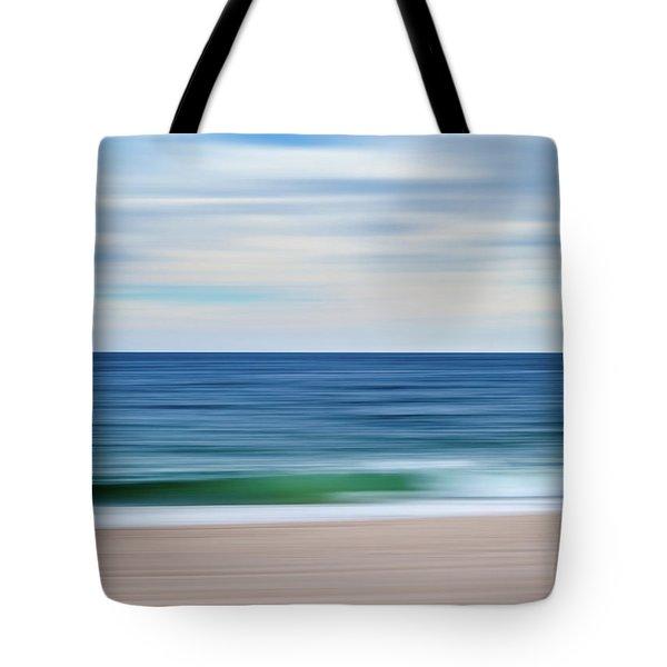 Beach Blur Tote Bag