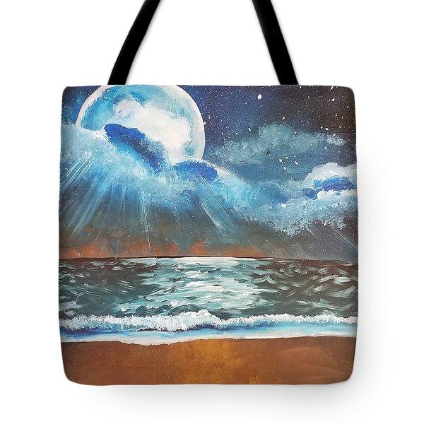 Beach Moon  Tote Bag