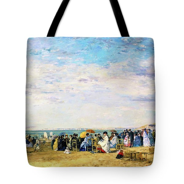 Beach Of Trouville - Digital Remastered Edition Tote Bag