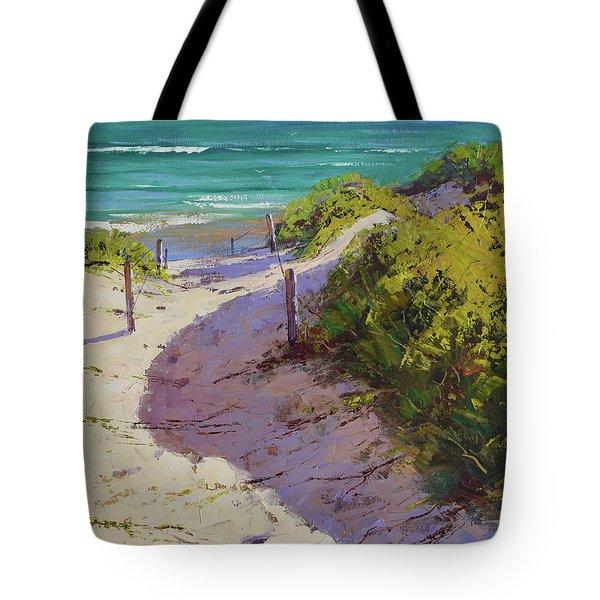 Beach Sand Dunes Tote Bag