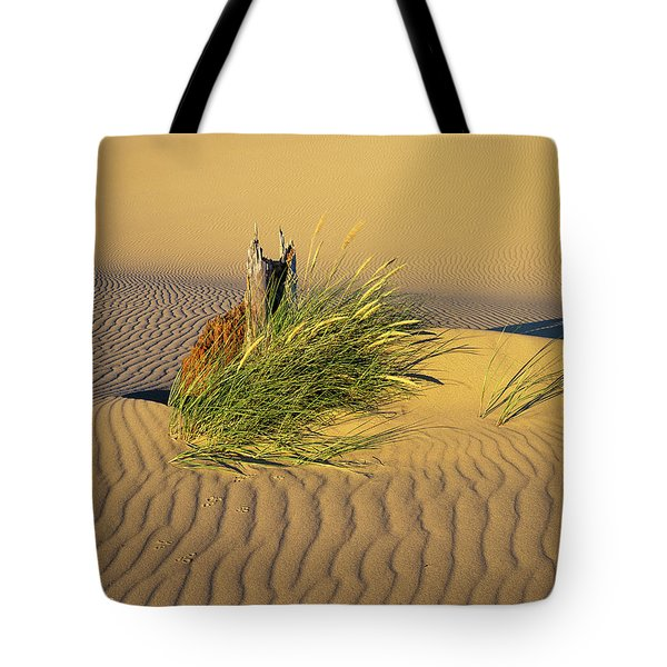Beachgrass And Ripples Tote Bag