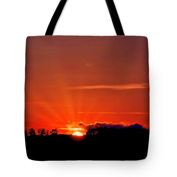 Beacon Heights Sunrise Tote Bag