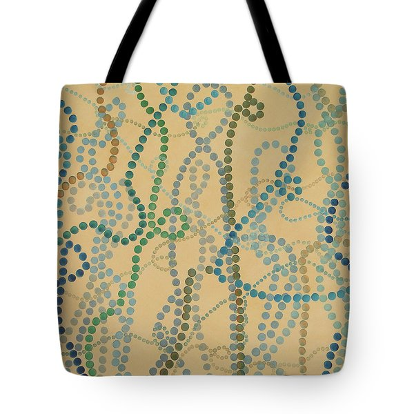 Bead And Pearls - Trendy Tote Bag