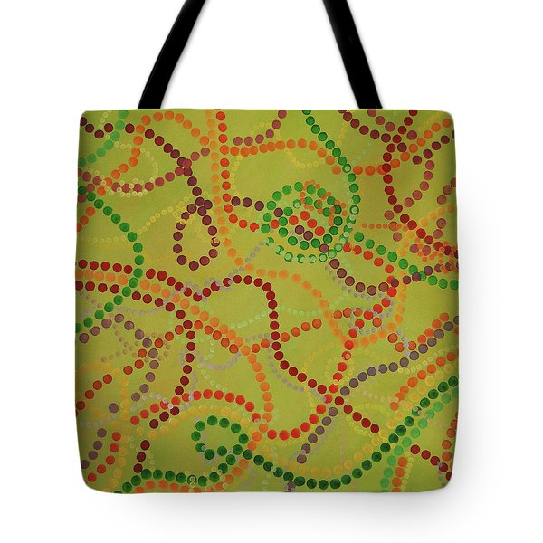 Beads And Pearls - September Tote Bag