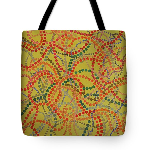 Beads And Pearls - Spicy Tote Bag