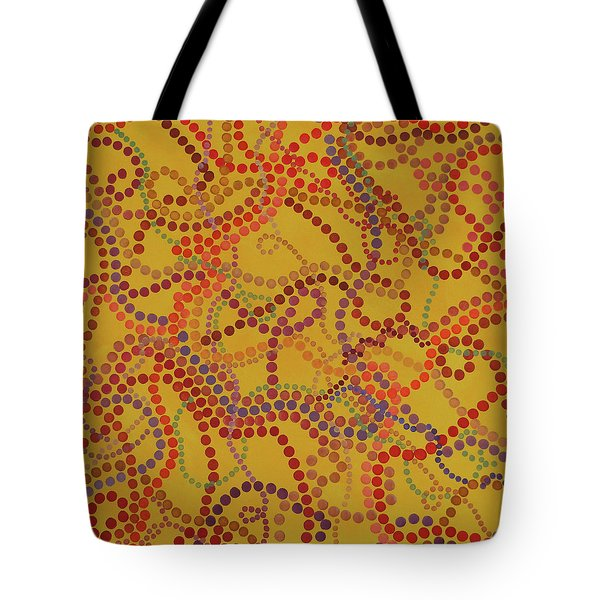 Beady And Pearls - Spicy 3 Tote Bag