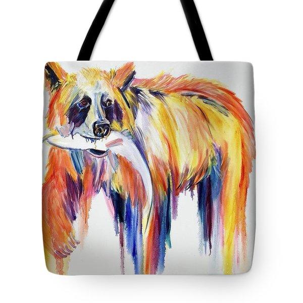 Bear Snack Tote Bag