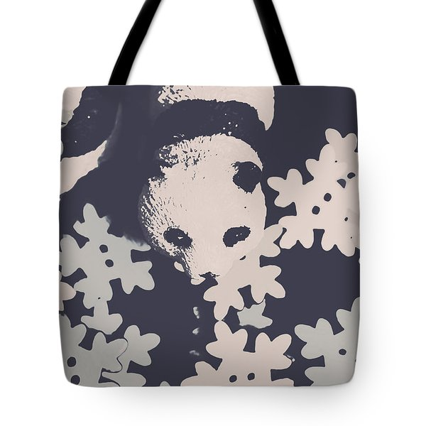 Bearing Winter Tote Bag
