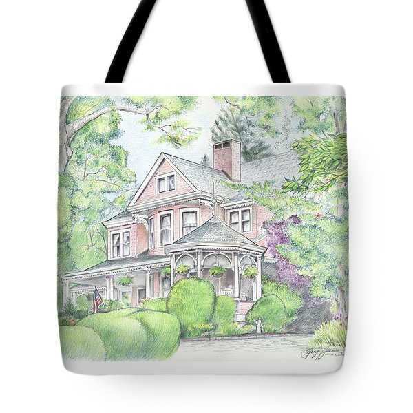 Beaufort House Tote Bag