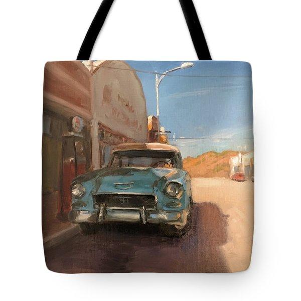 Beautiful Downtown Lowell, Arizona Tote Bag