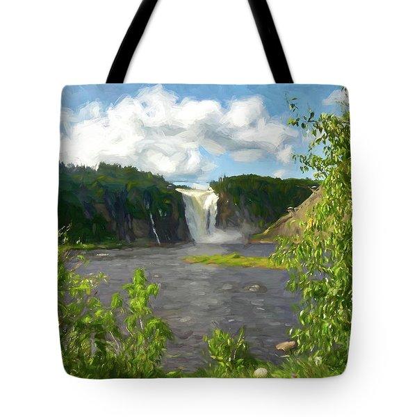 Beautiful Falls Tote Bag