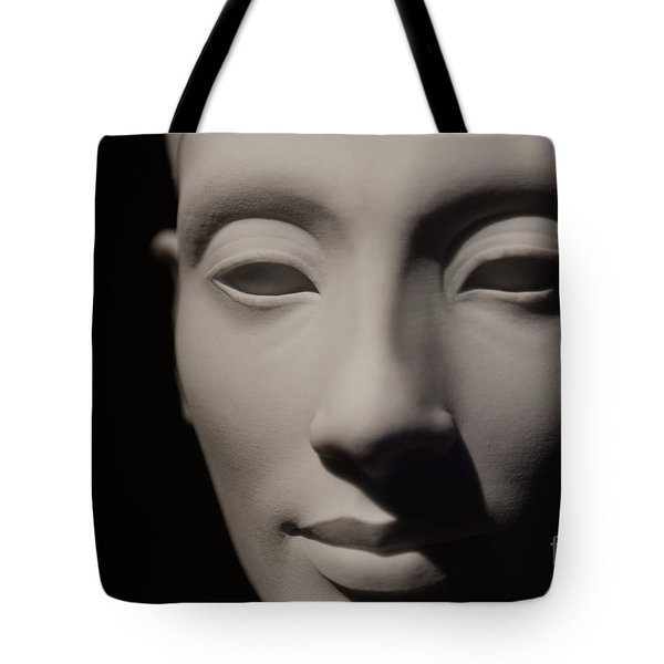 Tote Bag featuring the photograph Beautiful Nefertiti  by Sue Harper