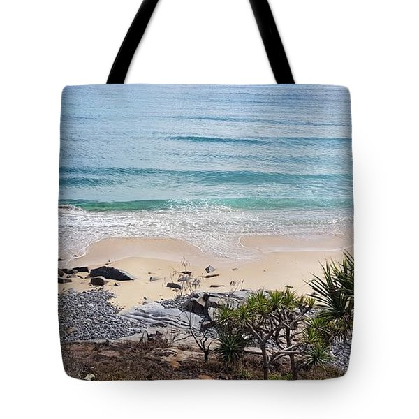 Beautiful Noosa Beach  Tote Bag