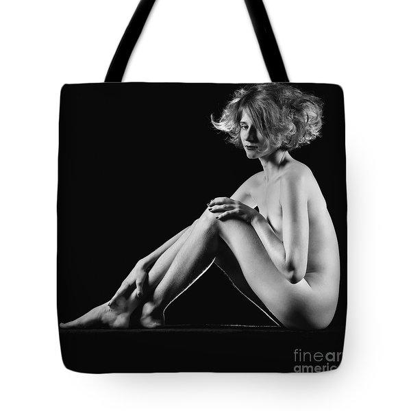 Beautiful Nude Woman Fineart Style Tote Bag