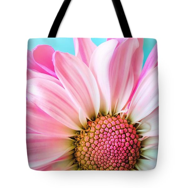 Beautiful Pink Flower Tote Bag