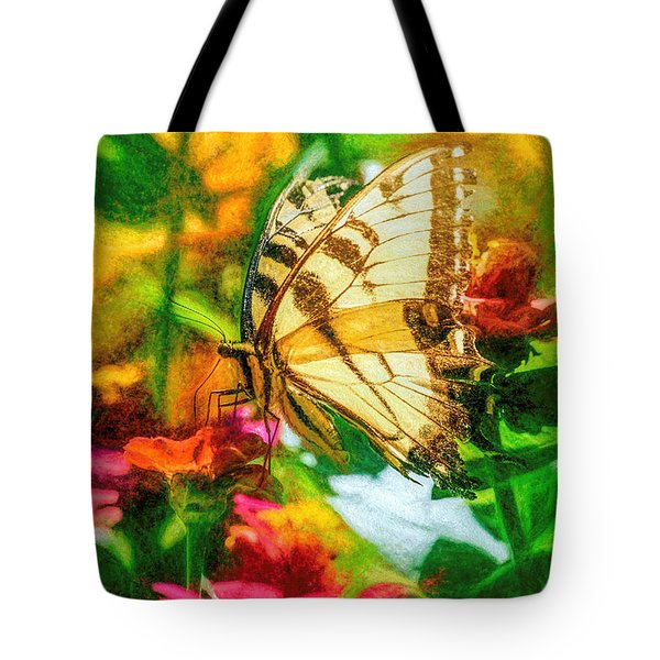 Beautiful Swallow Tail Butterfly Tote Bag
