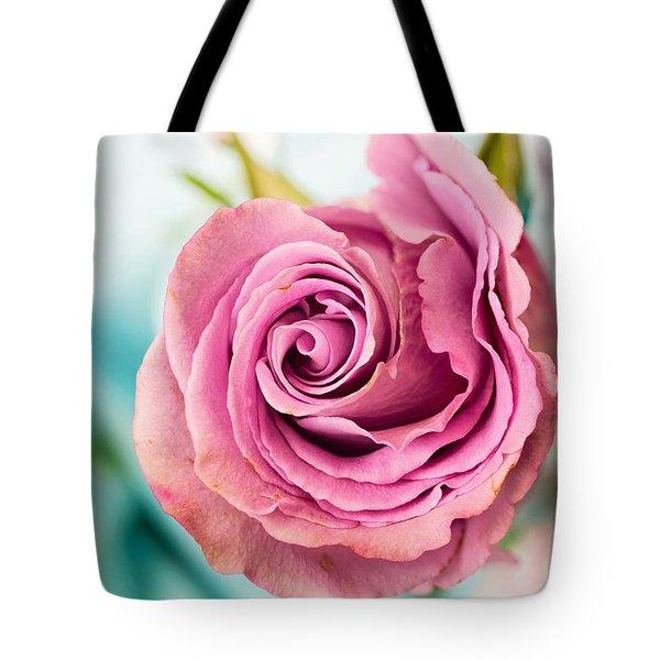 Beautiful Vintage Rose Tote Bag