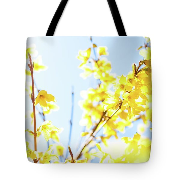 Tote Bag featuring the photograph Beautiful Yellow I by Anne Leven